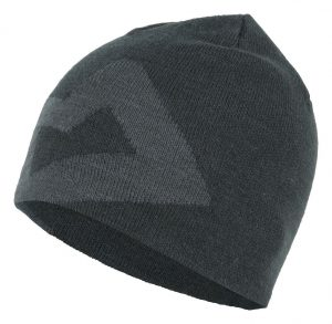 Mountain Equipment Branded Knitted Beanie (Raven/ Shadow)