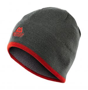 Mountain Equipment Plain Knitted Beanie (Shadow/Cardinal)
