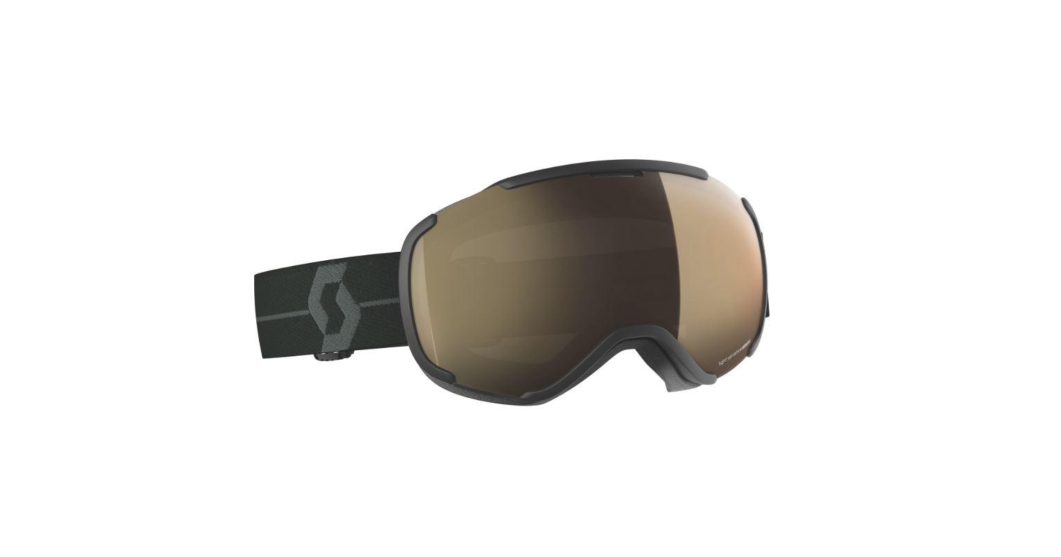 fcb2dc583920 Scott Faze II Light Sensitive Snow Sports Goggles (Black  Grey Bronze Chrome)  – Cat 1-3