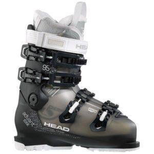 Head Women's Advant Edge 95 W Ski Boots (Transparent/Black)
