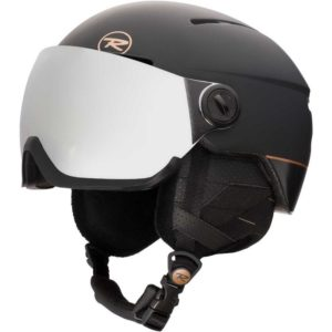 Rossignol Visor Women's Snowsports Helmet - Black