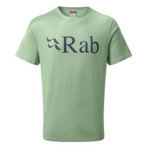 Rab Men's Stance Logo SS Tee (Silverpine)