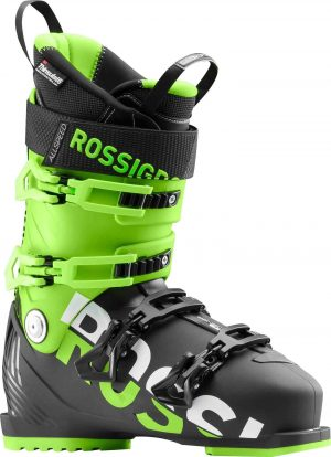Rossignol Men's Allspeed 100 Ski Boots (Black/Green - 2018/19)