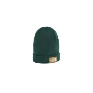 The North Face Dockworker Recycled Beanie (Night Green/British Khaki)