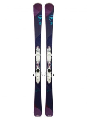 Rossignol Women's Temptation 84 Skis and Xpress 11 Bindings
