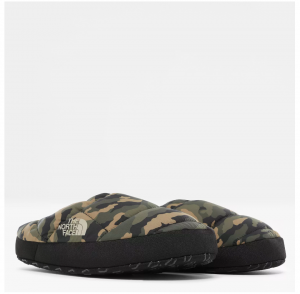 The North Face Men's NSE Tent Mule III Slippers (Burnt Olive Camo)