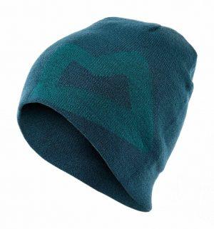 Mountain Equipment Branded Knitted Beanie (Legion Blue/ Tasman)