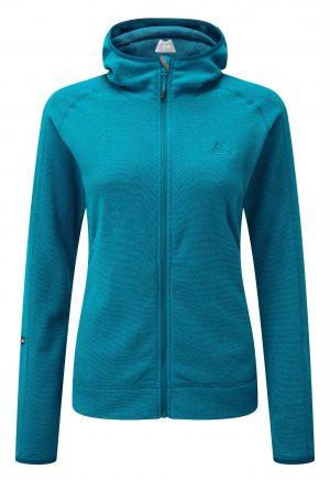 Mountain Equipment Women's Diablo Hooded Fleece Jacket (Tasman Blue)
