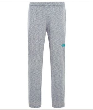 The North Face Men's Mountain Sweat Pants (Grey/ Blue Logo)