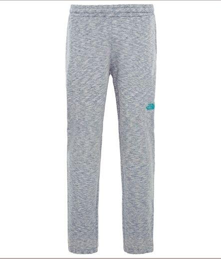 The North Face Men's Mountain Sweat Pants (Grey/ Blue Logo)