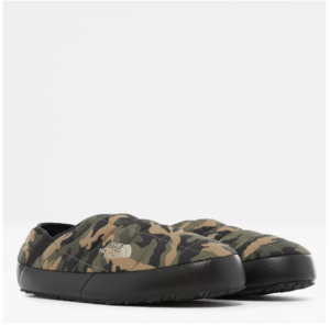 The North Face Men's Thermoball Traction Mule V Slippers (Burnt Olive Camo)