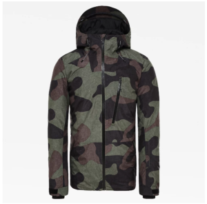 The North Face Men's Descendit Snowsports Jacket (Four Leaf Clover Camo Print)
