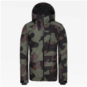 The North Face Men's Descendit Snowsports Jacket (Four Leaf Clover Camo Print)