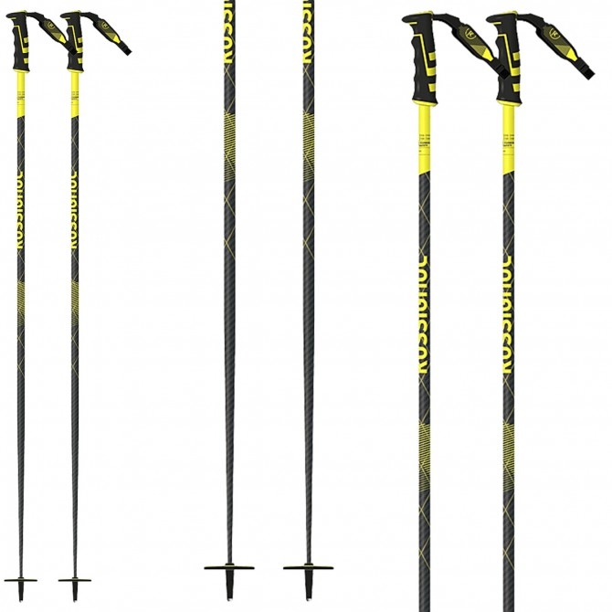 Rossignol Tactic Carbon TR 40 Safety Ski Poles
