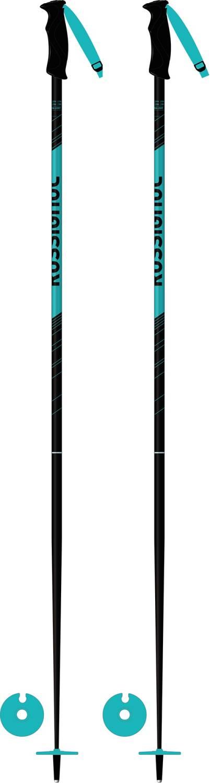 Rossignol Electra Women's Ski Poles - Black/Teal