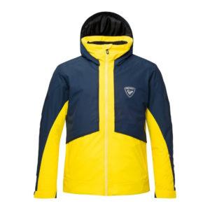 Rossignol Men's Masse Ski Jacket – Snowsports Jacket – Yellow