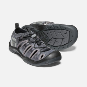 Keen Men's Evofit 1 Sandals (Heathered Black/ Magnet)