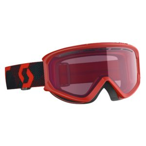 Scott Fact Snow Sports Goggles (Red/Blue Nights) Enhancer