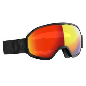 Scott Unlimited 11 OTG Goggles - Light Sensitive - Black/Red Chrome