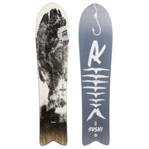 Rossignol XV Sushi LF Wide White Label Snowboard - 145 - 2020