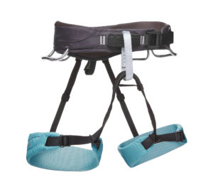 Black Diamond Womens Momentum Harness - S (Caspian Blue)