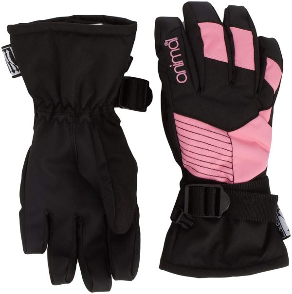 Animal Girls Technical Glove (Black/Pink)