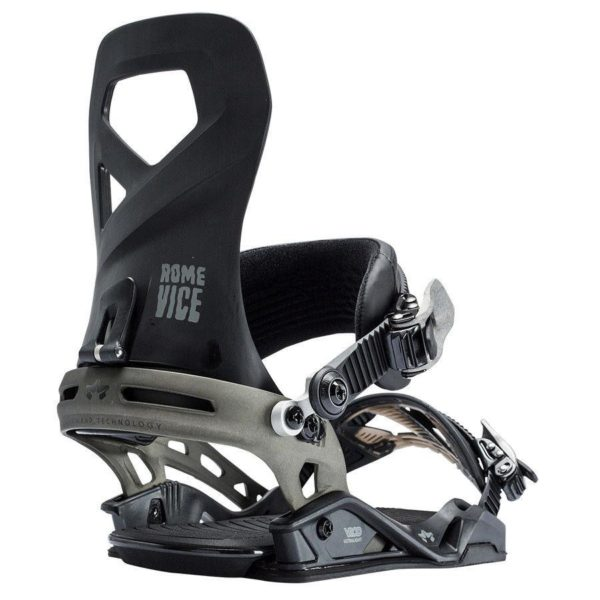 Rome SDS Vice Snowboard Bindings - Black - 2018