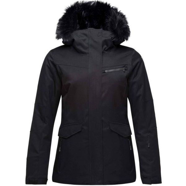 Rossignol Women's Parka Black Ski Jacket (Size 10 UK)