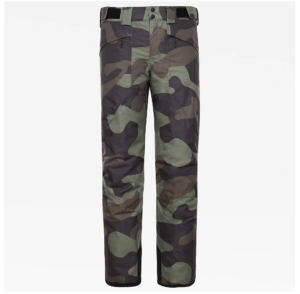 The North Face Men's Presena Snow Sports Pants (Four Leaf Clover Camo)