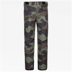 The North Face Men's Presena Snow Sports Pants (Four Leaf Clover Camo)