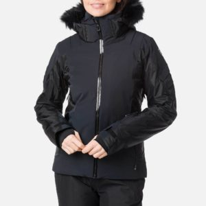 Rossignol Women's Aile Ski Jacket - Size 10 UK - Black