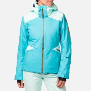 Rossignol Women's Control Ski Jacket - Size 10 UK - Peacock Blue