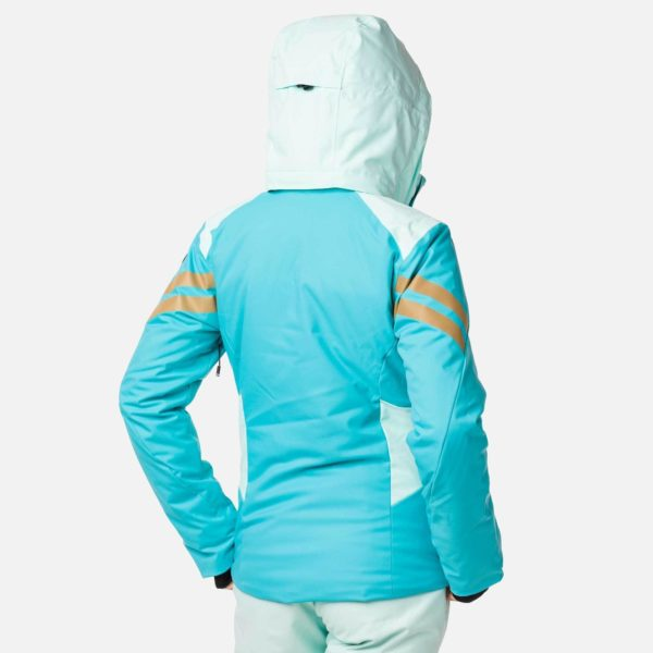 Rossignol Women's Control Ski Jacket - Size 10 UK - Peacock Blue