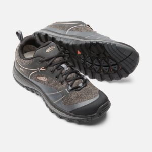 Keen Women's Terradora WP Walking Shoe (Raven/ Rose Dawn)