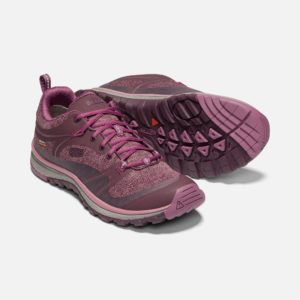 Keen Women's Terradora Waterproof Walking Shoes (Winetasting/Tulipwood)