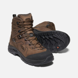 Keen Men's Karraig WP Walking Boots (Dark Earth/Raven)
