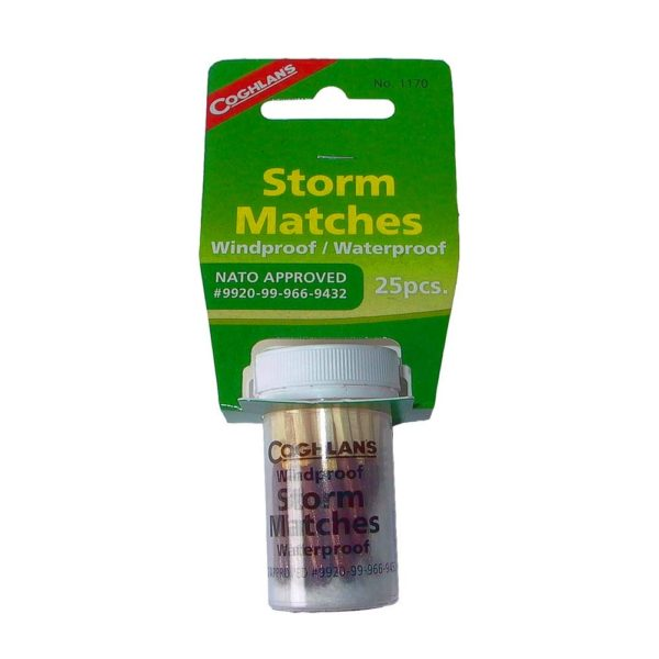 Cogglans Windproof/Waterproof Storm Matches
