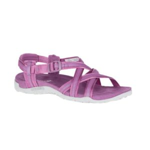 Merrell Women's Terran Ari Lattice Sandals (Very Grape)