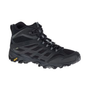Merrell Men's Moab Mid Fast Mid GTX (All Black)