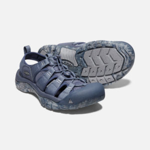 Keen Men's NewportH2 Sandals (Blue Nights/ Swirl Outsole)