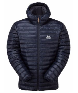 Mountain Equipment Men's Arete Hooded Down Jacket (Cosmos)