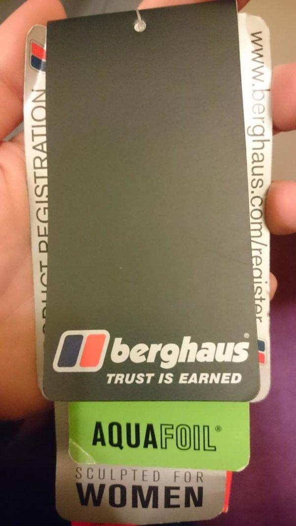 Berghaus Women's Powder Ski Pant - Grey- 14