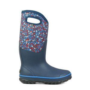 Bogs Women's Classic Tall Welly Boots (Blue Multi)