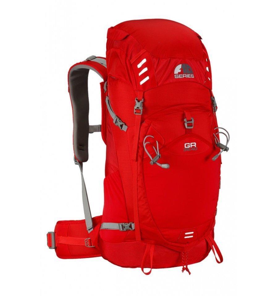 Force Ten GR 35:40 Litre Rucksack (Chilli Red)