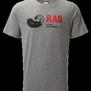 Rab Men's Stance Vintage SS Tee (Grey Marl)