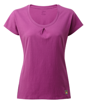 Rab Women's Solo SS Tee (Violet)