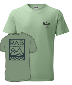 Rab Men's Stance Geo SS Tee (Silverpine)