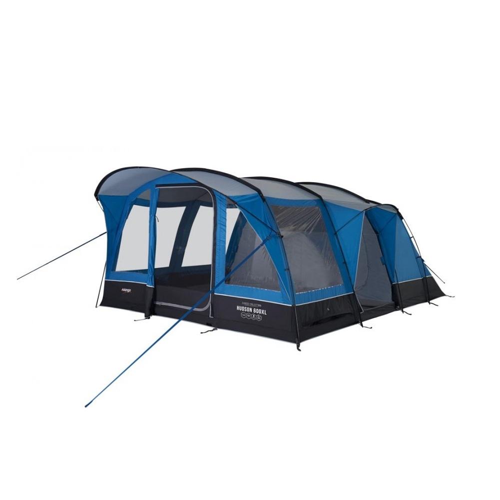 Vango Hudson 600XL Tent - 6 Person Tent (Sky Blue) - Summits