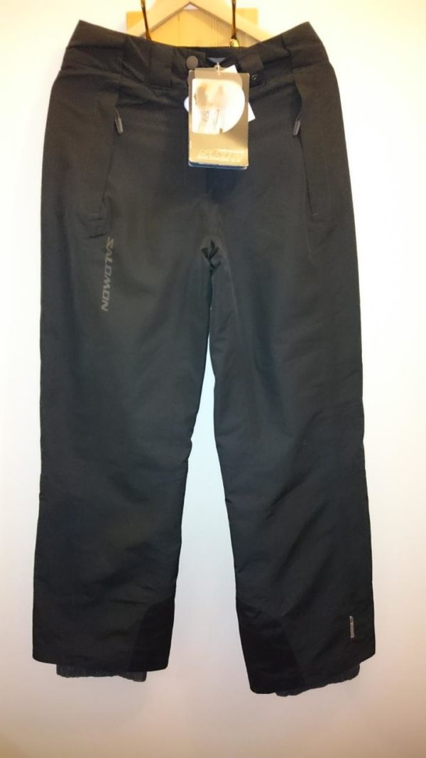Salomon Women's Pilot Ski Pant - Black - 10