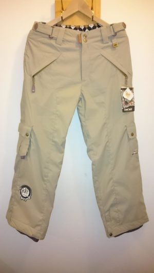 Ride Snowboards Youth Charger Snow Pant - Khaki - L (Age10-12)